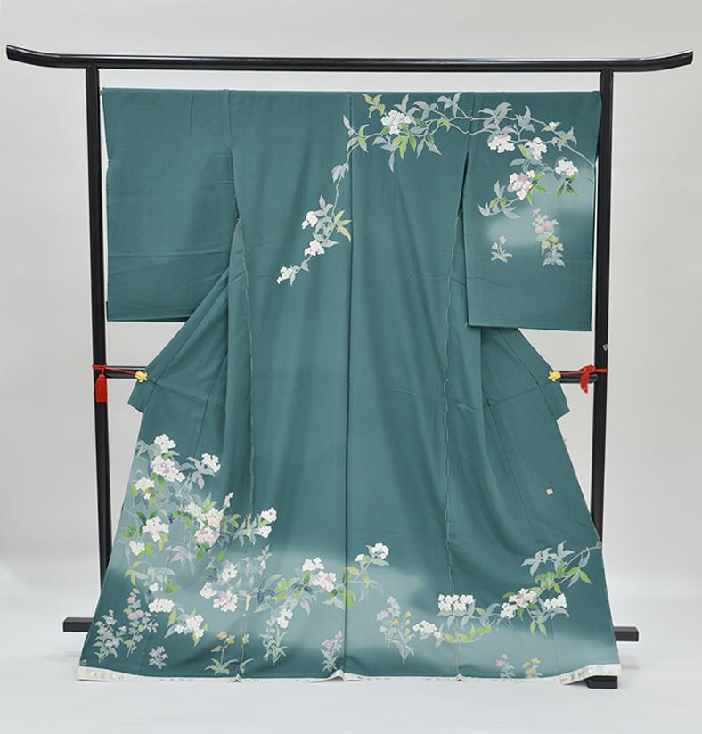 わ・ふうの訪問着- 京加賀友禅訪問着「草花」64