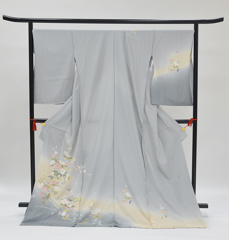 わ・ふうの訪問着- 京加賀友禅訪問着「流水に小花」45
